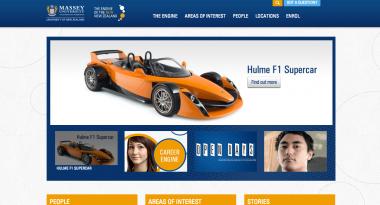 Massey University Homepage