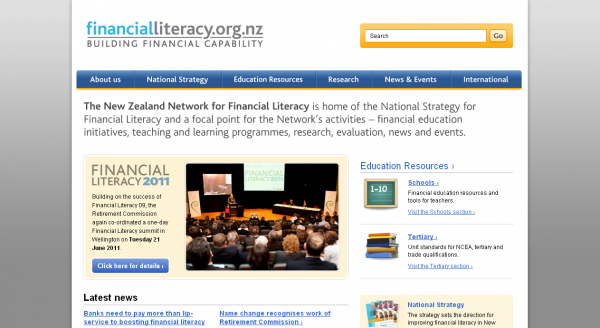 New Zealand Network for Financial Literacy